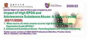 3-Hour Update on the Impact of High EPDS & Adolescence Substance Abuse @ Zoom Live Webinar