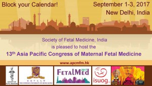 13th Asia Pacific Congress in Maternal Fetal Medicine @ New Dehli, India