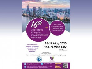 16th Asia Pacific Congress in Maternal Fetal Medicine @ Ho Chi Minh City, Vietnam