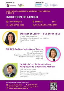 APCMFM E-ZONE 8 INDUCTION OF LABOUR @ Zoom Live